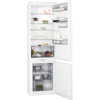 AEG Frost Free Integrated Fridge Freezer 184.2 cm A+ SCK8191VTS